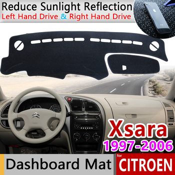 цена на for Citroen Xsara 1997 1998 1999 2000 2001 2002 2003 2004 2005 2006 Anti-Slip Mat Dashboard Cover Sunshade Dashmat Accessories