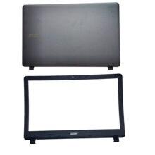 Novo portátil lcd capa traseira/lcd moldura dianteira/lcd para acer aspire ES1-523 ES1-573 ES1-533 ES1-532 série capa caso superior