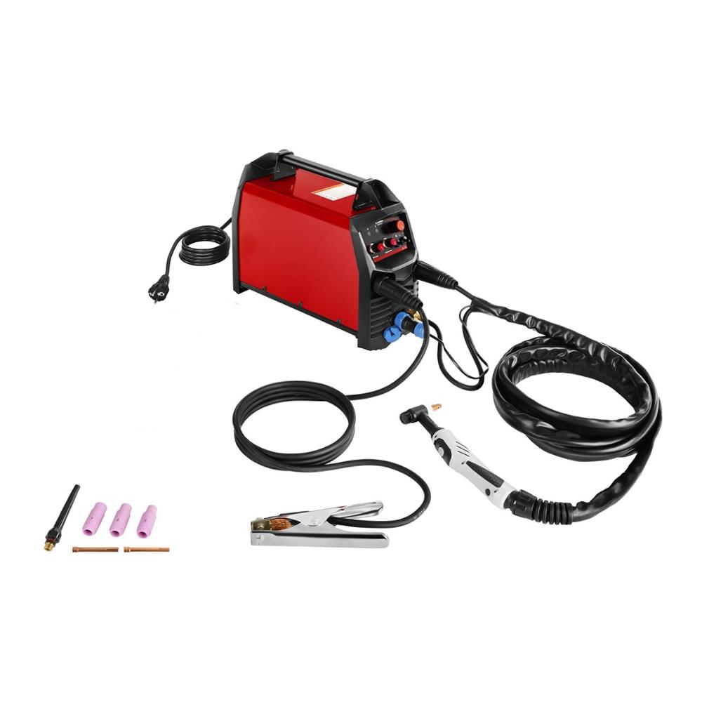 Professional 200A TIG Welder Hot Start HF Ignition Anti-Stick Arc Force CE Certificated 230V Inverter MMA TIG Welding Machine