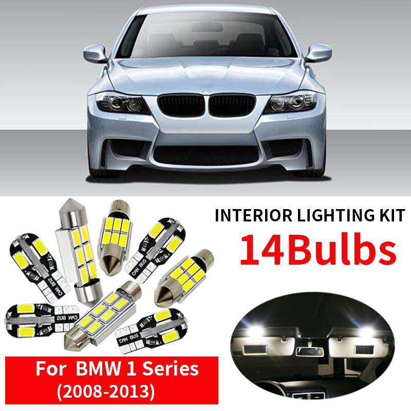 For BMW X6 E71 Premium LED Interior Kit 19pcs SMD Bulbs White Error Free Canbus