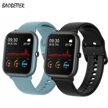 Sports-Bracelet Fitness-Watch Heart-Blood-Pressure-Monitoring Touch-Screen Bluetooth Call