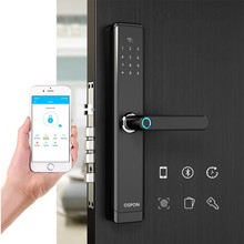 2020 Home TTLock APP gestione remota blocco impronte digitali Smart Electric Door Lock Password IC Card Key Finger APP sblocco intelligente
