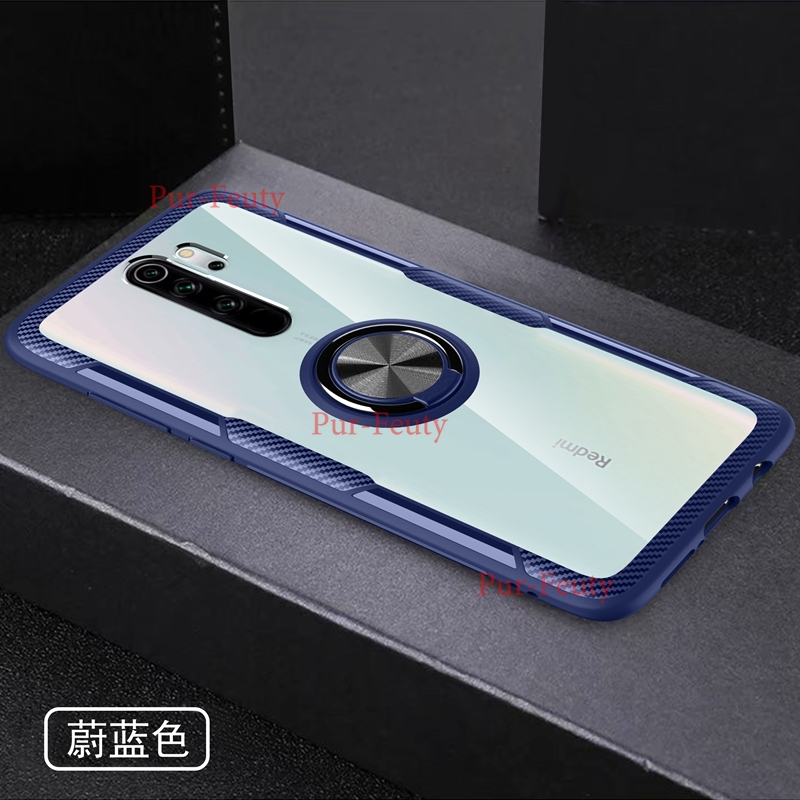 for Mi 8 Lite <font><b>9</b></font> SE Mi9T 9T K20 Pro Cover Transparent Acrylic <font><b>Ring</b></font> <font><b>Case</b></font> For Xiaomi Redmi <font><b>Note</b></font> 5 7 8 Pro Magnet Car Holder <font><b>Case</b></font> image