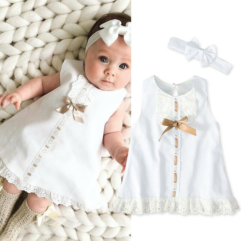 Newborn Kids Baby Girls Sleeveless Mini Dot Tulle Princess Romper+Hat Outfit Set