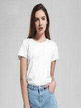 Camiseta de algodão de moda feminina unissex camiseta camiseta camiseta camiseta de algodão estético