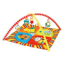Детский игровой коврик 85*85*56 см развивающий головоломка с
