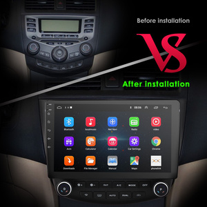 """Image 5 - Ossuret 10"""" Android 10 Car radio GPS Navigation for Honda ACCORD 7 2003 2004 2005 2006 2007 SWC FM CAM IN BT USB DAB DTV OBD PC"""