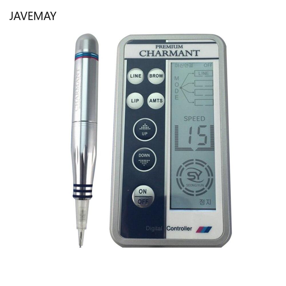 Профессиональная вышивка бровей Charmant тату машина ручка МТС полуперманентный макияж микроблейдинг ручка лайнер шейдер Электрический