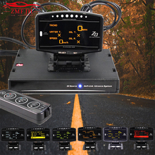 10 in 1 Full Kit 스포츠 패키지 BF CR C2 Advance ZD 링크 미터 전자 센서가있는 디지털 자동 게이지