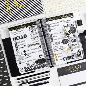 Image 3 - Lovedoki bonito listra notebooks e diários 2020 ano agenda planejador organizador semanal plano mensal diário escola material de escritório