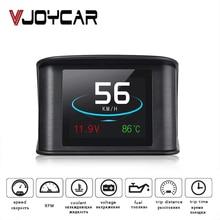 VJOYCAR Hud GPS OBD Computer Auto Geschwindigkeit Projektor Digital Tacho Display Kraftstoff Verbrauch Temperatur Gauge Diagnose Werkzeug