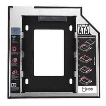 Универсальный 2,5 2nd 9,5 мм Ssd Hd SATA жесткий диск HDD Caddy адаптер Bay F