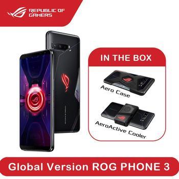 Перейти на Алиэкспресс и купить ASUS rog телефон 3 глобальная версия ZS661KS 12 Гб ОЗУ 512 Гб ПЗУ Snapdragon 865 + rog телефон 2 Обновление 5G смартфон OTA многоязычный