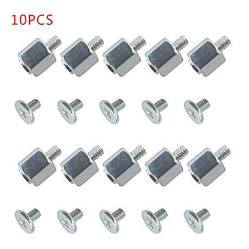 10 Set Hand Tool Mounting Kits Stand Off Screw Hex Nut for ASUS PC Laptop M.2 SSD Motherboard 1