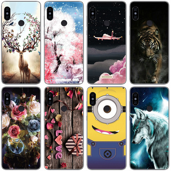 silicone case For Xiaomi Redmi Note 5 global Cases back Cover redmi note 5 PRO Snapdragon 636 version hongmi note5 new image