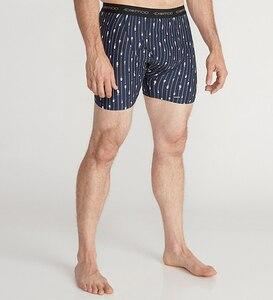 Image 2 - 2019 New Exofficio Underwear Men Sport Mesh Print 6inch Boxer Man Tight Underwear Quick Dry Ultra Light Mens Boxer USA Size M XL