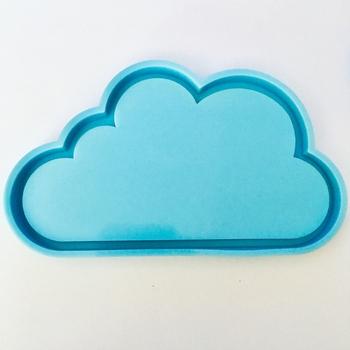 Chmura żywica Coaster formy chmura silikonowe formy DIY Handmade epoksydowa dekoracja żywiczna foremka chmura kształt żywica formy narzędzia tanie i dobre opinie JAVRICK CN (pochodzenie) Cloud Resin Coaster Molds Foremki SILICONE Cloud Silicone Mold