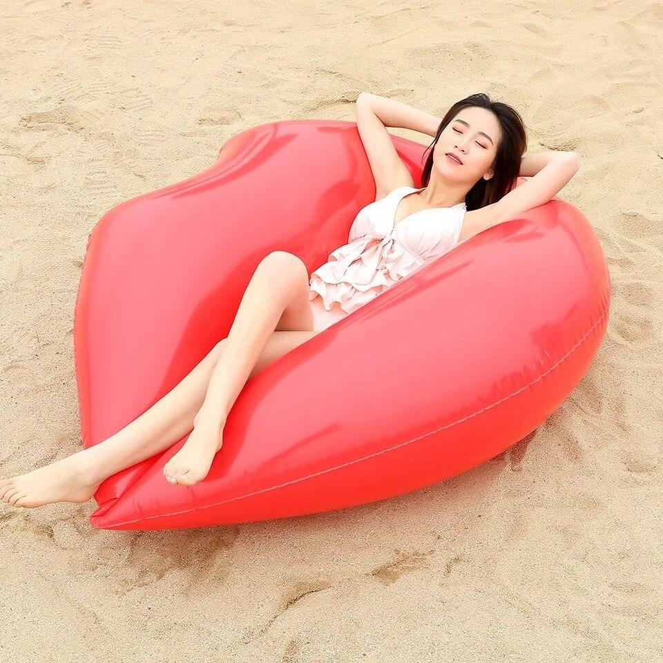 linha cama flutuante engrossado pvc natação anel