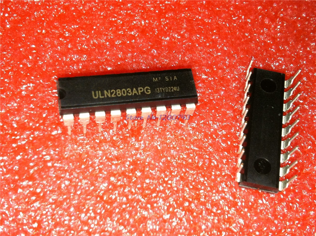 10pcs/lot ULN2803 ULN2803A ULN2803APG 2803 DIP18 SHORT LEADTIME In Stock
