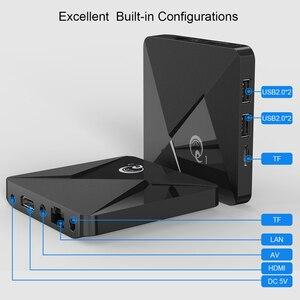Image 4 - 미니 Q1 안드로이드 9.0 TV 박스 Q1 미니 스마트 tv 박스 Rockchip RK3328A 2 기가 바이트 16 기가 바이트 미디어 플레이어 구글 플레이 2.4 와이파이 안드로이드 TV 박스