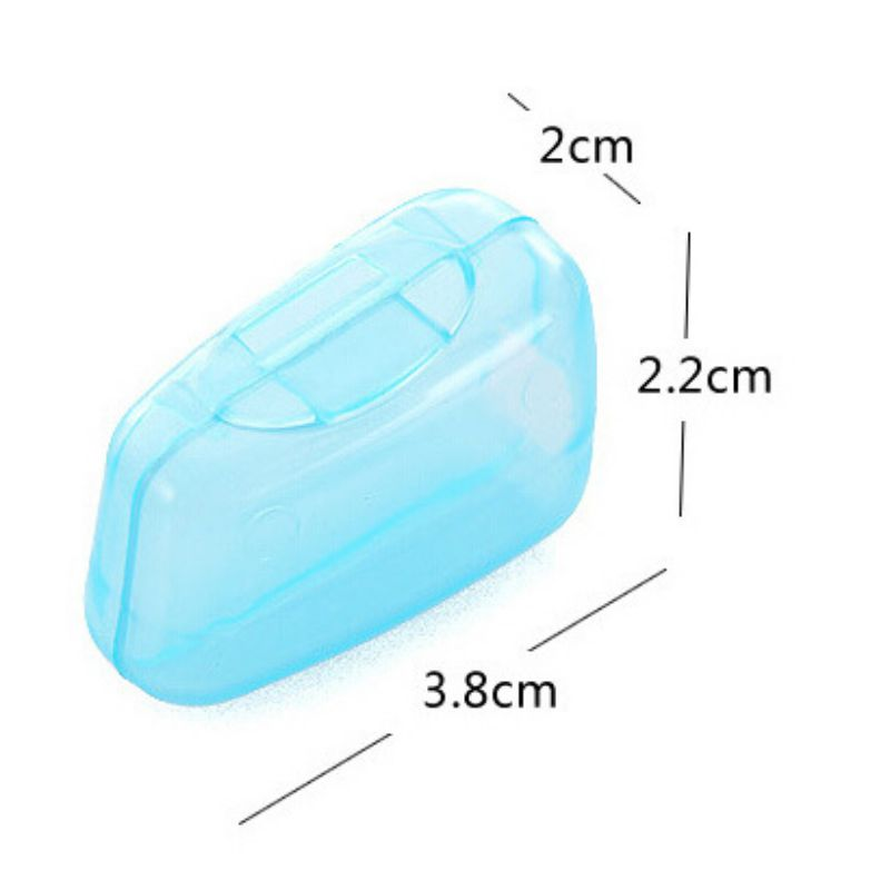 Plastic Toothbrush Head Cover Multi Color Travel Outdoor Camping Portable Brush Cap Portable Toothbrush Head Protection Box