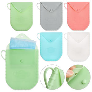 Case Storage-Bag Reused-Face-Masks Silica-Gel Dustproof Portable Bacteria And 1-Pc Cover-Holder