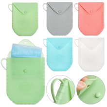 Case Storage-Bag Isolate Reused-Face-Masks Silica-Gel Bacteria Portable And Dustproof