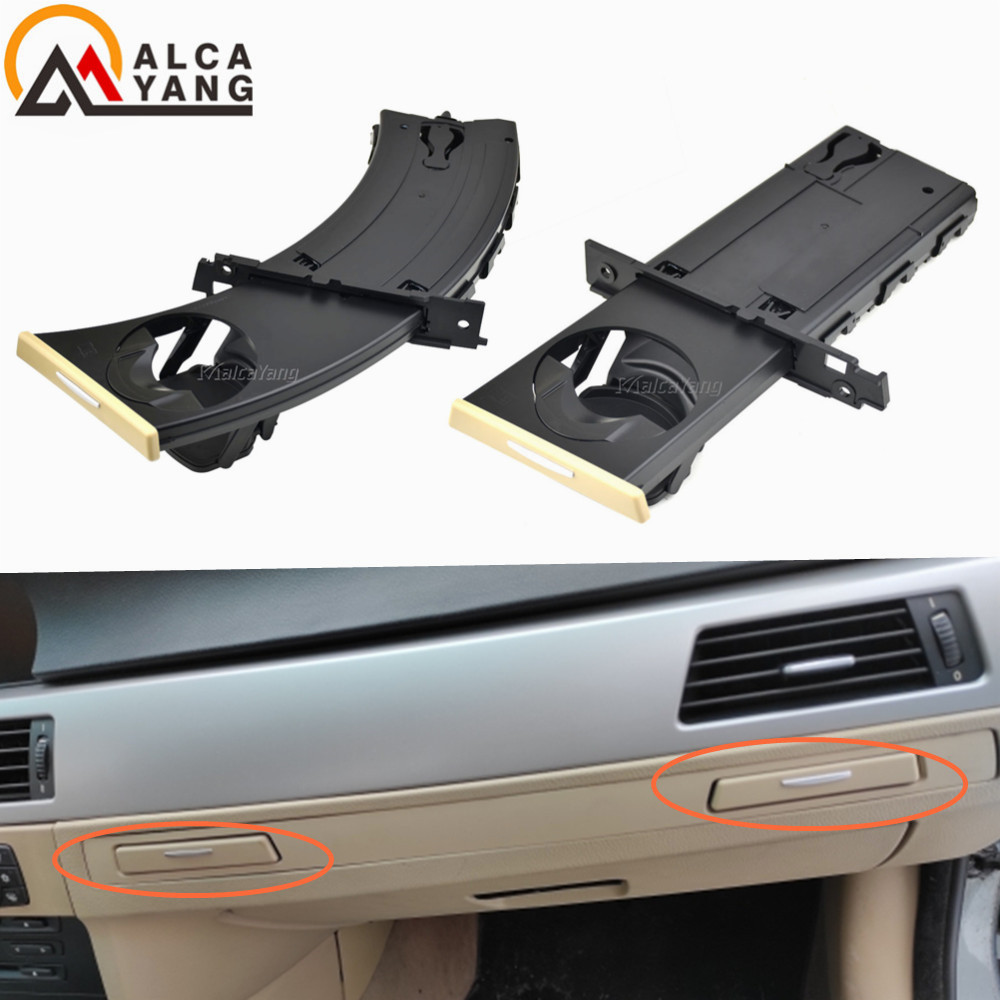 New Left/Right Car Front Drink Cup Holder Water Cup Drink Holder Cup Holder Stand For BMW E90 E91 E92 E93 Retractable