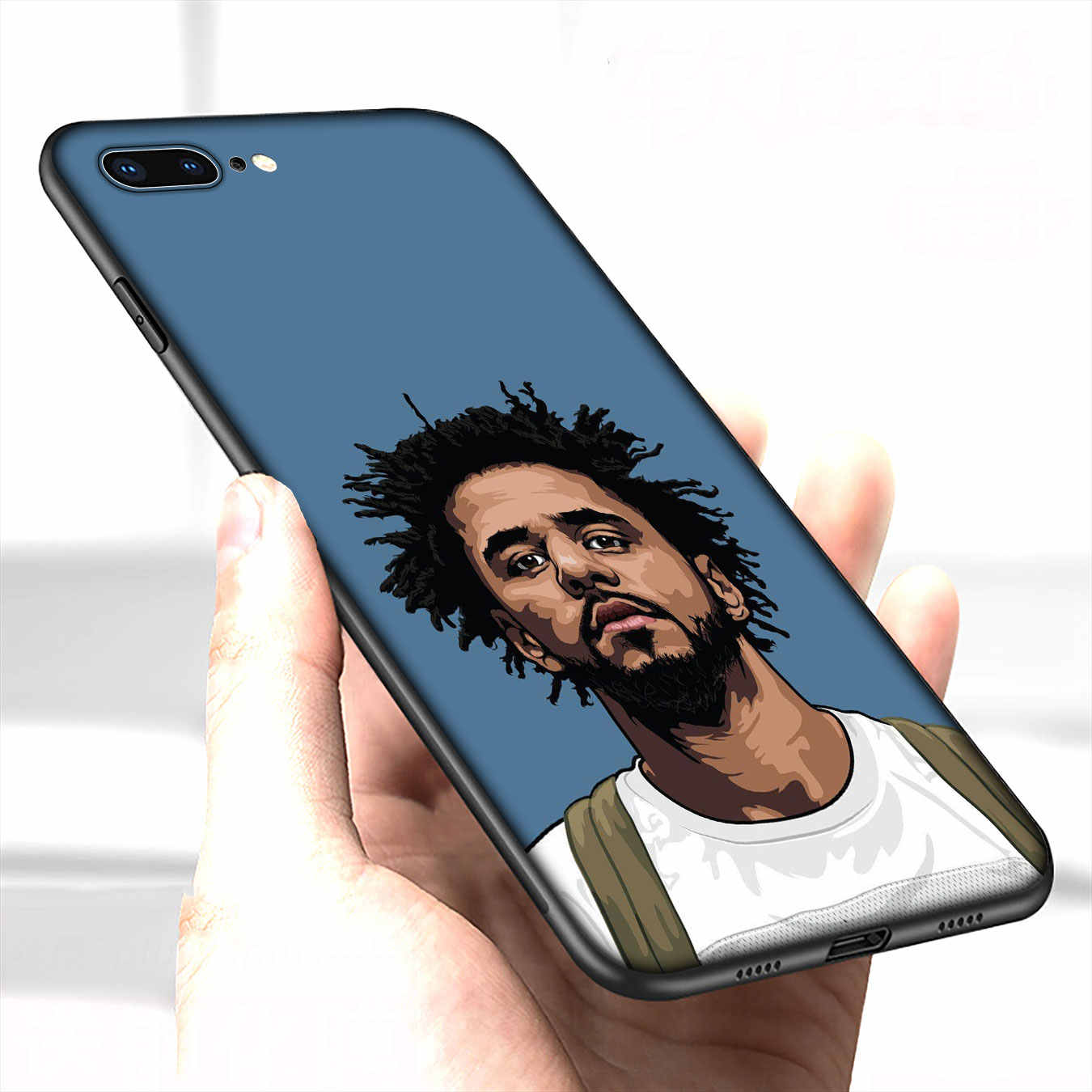 IYICAO J COLE Hip hop Soft Silicone Cover Case voor iPhone XR X XS 11 Pro Max 10 6 6S 7 8 Plus 5 5S SE Telefoon Case