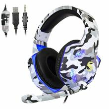 NEW K17 3.5mm Stereo Bass Gaming Headset LED Mic Headphones 1.5m Wired Earphone For PC Laptop PS4 Pro PS3 Xbox One S 360 original takstar pro82 pro 82 professional monitor headphones hifi headset for stereo pc recording k song game bass adjustable