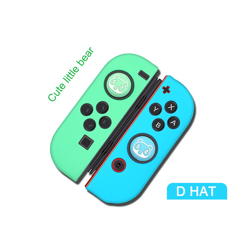 Protection Case For Nintendo Switch NS Joy Con Controller Soft Silicone Housing Shell Case Thumbstick Grip Cap Joystick Cover