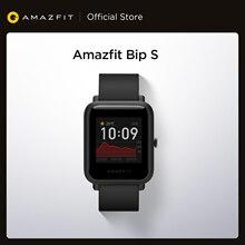 In Lager 2020 Globale Amazfit Bip S Smartwatch 5ATM wasserdichte gebaut in GPS GLONASS Bluetooth Smart Uhr für Android iOS telefon