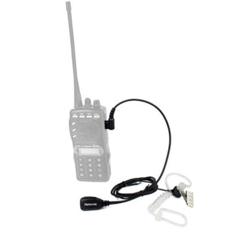 1pcs Acoustic Tube PTT Mic 2Pin Headphone Walkie Talkie Headset For Kenwood TYT Baofeng 888s UV-5R UV-82 RETEVIS RT22 H777 RT-5R