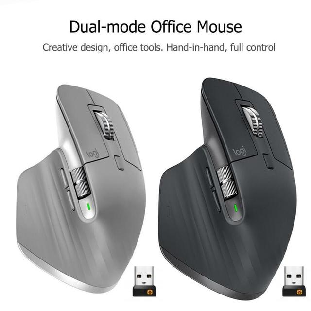 Logitech MX Master3 2.4GHz Bluetooth Gaming Mouse 4000DPI Adjustable Wireless Dual Mode 3