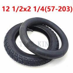 12 1/2X2 1/4 (57-203) внутренняя трубка внешняя шина 12,5*2,125 INNOVA шина для газовых и электрических скутеров E-Bike детская коляска аксессуар