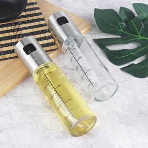 Sprayer Barbecue-Bottle Soy-Sauce 100ML Seasoning Stainless-Steel Kitchen Leakproof LU9281517