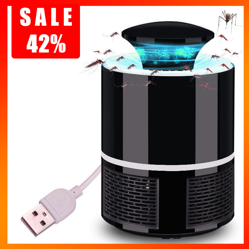 Electric Mosquito Killer Lamp LED Bug Zapper Anti Mosquito Killer Lamp Insect Trap Lamp Killer Home Living Room Pest Control