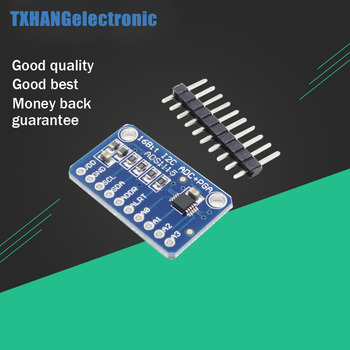 5PCS 16 Bit I2C ADS1115 Module ADC 4 channel with Pro Gain Amplifier diy electronics cjmcu ads1115 ultra small 16 bit precision analog to digital converter adc development board module free shipping