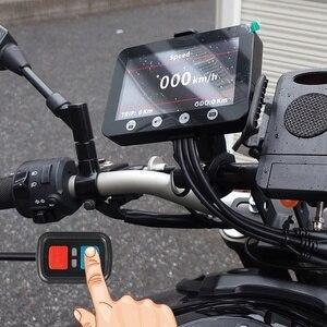 Image 2 - Vsys f4.5 4.5 lcd lcd lcd motocicleta dvr moto câmera gravador com tpms inteligente calibre duplo 1080p sony imx307 starvis wifi à prova dwaterproof água