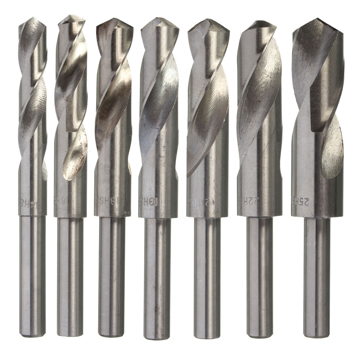 1Pcs 14/16/18/19/20/22/25mm Carbon Steel HSS Blacksmiths Drill Bit 1/2