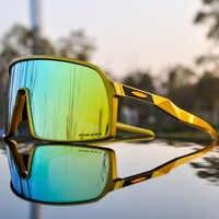 Gafas de ciclismo de marca para deportes al aire libre, gafas de ciclismo de montaña, gafas de sol polarizadas para hombres, gafas de ciclismo UV400