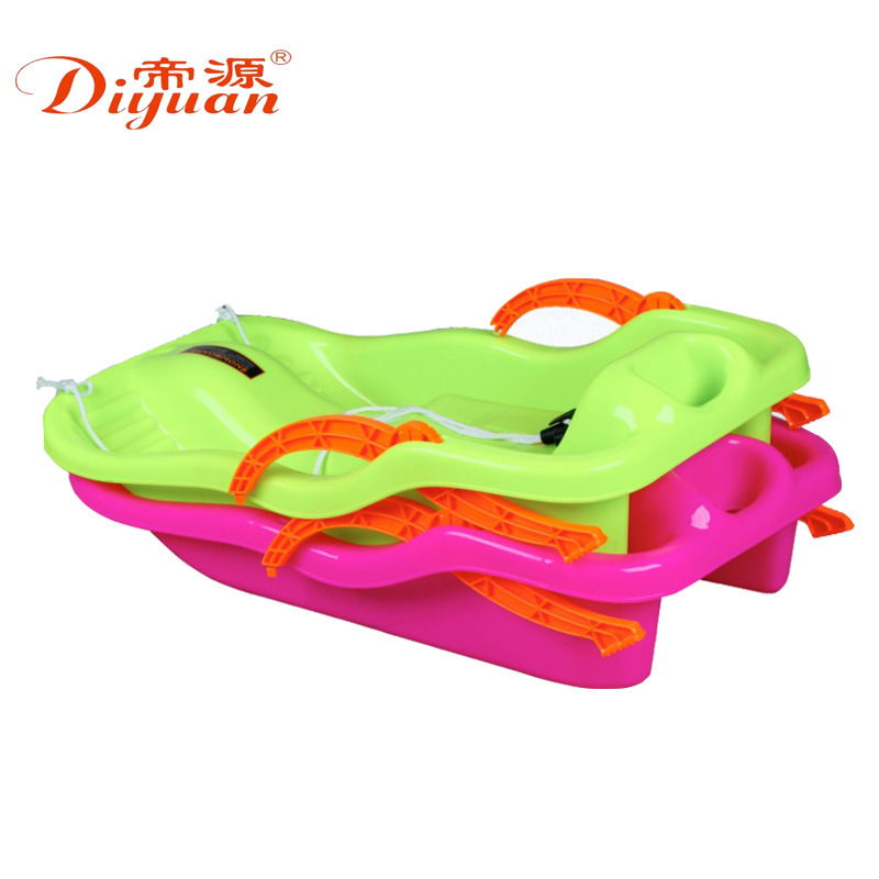 Children's adult thick wear-resistant skis classic skis grass skis sand board