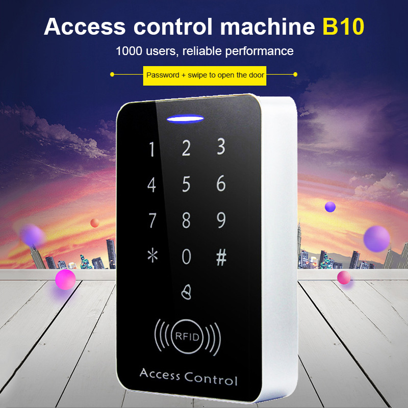 RFID Access Control Lock Security Fireproof Waterproof Card Password Open Door AS99