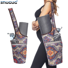 лучшая цена 2019 Women Sport Bag For Fitness Big Capacity Yoga Mat Bag New Yoga Backpack Canvas Yoga Mat Case Fitness Carriers Gym Backpack