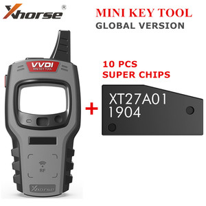 Image 1 - Xhorse VVDI Mini Key Tool Remote Key Programmer Support IOS and Android VVDI Key Tool Global Version Get 10pcs Free Super Chip