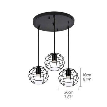 Zwarte Retro Industriële Hanglampen  4