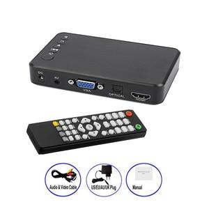 Image 1 - Mini Full HD Media multimedia Player Autoplay 1080P USB External HDD Media Player For SD U Disk HDMI VGA AV Output FOR MKV RMVB