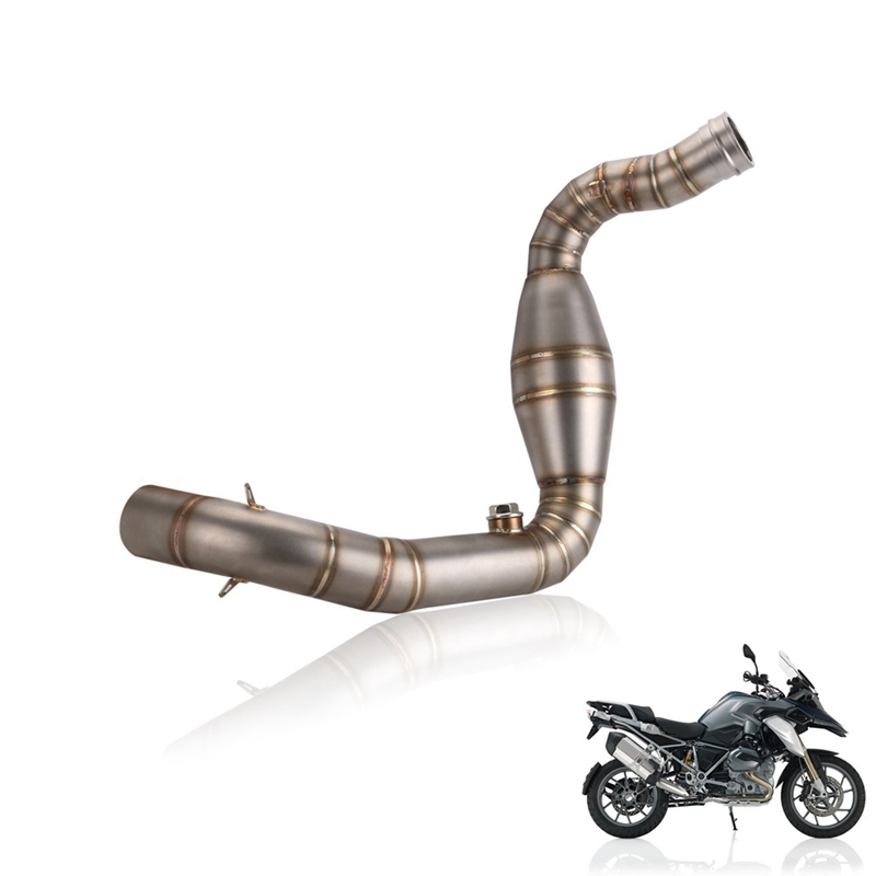 Motorcycle Exhaust Pipe Muffler Front And Rear Middle Link Tube For Bmw G310R G310Gs 2017-2019 G310R G 310 Gs Sliding Exhaust Pi