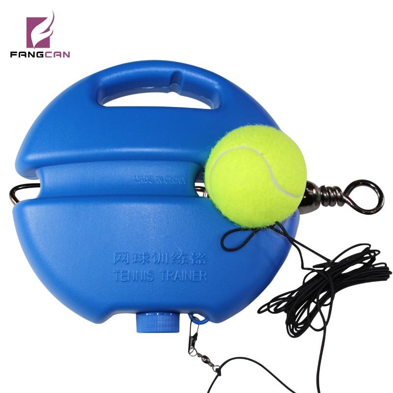 FANGCAN Sports Solo Tennis Trainer Include Tennis Rebound Ball And Tennis Ball Base Board Tennis Training Equipment