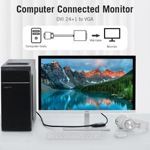 Image 2 - Vention DVI to VGA 어댑터 Full HD 1080P 24 + 1 25Pin Male to 15Pin Female 케이블 컨버터 모니터 TV PC DVI D VGA 어댑터